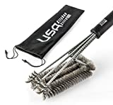 BBQ Grill Brush By USA Kitchen Elite - Best Barbec...