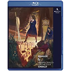 Mahler: Symphony No. 6 (Blu Ray) [Blu-ray]