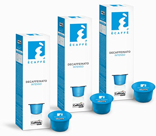 Buy 30 Ècaffè Coffee Capsules DECAFFEINATO INTENSO from Caffitaly System