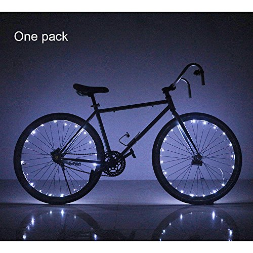 Soondar Water Resistant Cool 20 LED Bicycle Bike Cycling Wheel Light Safety Light Spoke Light Lamp Lightweight Accessory (Cycling Spokes compare prices)