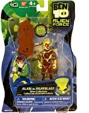 Bandai Ben 10 Alien Force 4 Inch Action Figure Alan (As Heatblast)