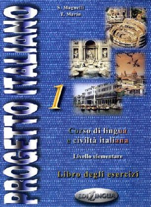 Progetto Italiano 1: Beginning - Intermediate (Italian Edition)