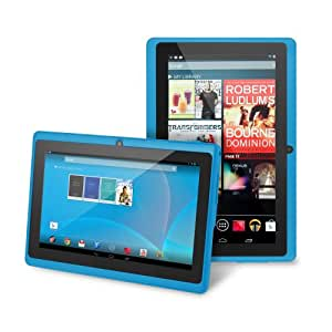 "Chromo Inc® 7"" Tablet Google Android 4.4 with Touchscreen, Camera, 1024x600 Resolution, Netflix, Skype, 3D Game Supported - Blue"