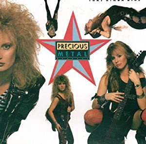 Precious metal that kinda girl cd 1988 uk import for Songs from 1988 uk