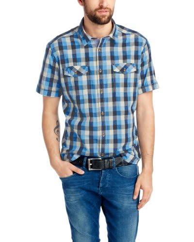 Esprit Camicia Uomo [Blu]