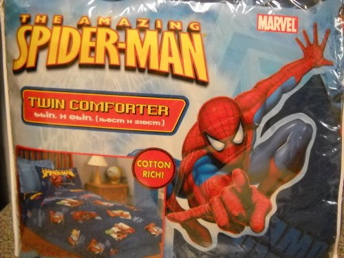 Spiderman Twin Comforter front-1080610