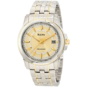 Bulova Men's 98B156 Precisionist Champagne dial Watch