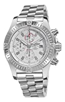 Breitling Men's A1337011/A660 Super Avenger White Chronograph Dial Watch by BRIT ARCH OF COUNTRY