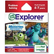 Amazing Disney/Pixar Monsters University Explorer Learning Game By Leap Frog