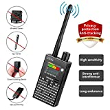 CaGuan Anti-Spy Wireless RF Signal Detector Set [2018 Latest Upgrade] Bug GPS Camera Signal Detector,for Hidden Camera GSM Listening Device GPS Radar Radio Scanner Wireless Signal Device Finder (Color: Black, Tamaño: Small)