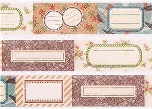 Cinta adhesiva decorativa washi de mt etiqueta mini nombre   Más información y comentarios de clientes