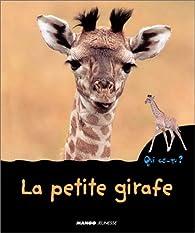 La petite girafe par Christian Marie