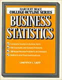 Business Statistics (Harcourt Brace Jovanovich College Outline Series)