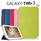 ORDEL® Slim Smart Case Cover For Samsung Galaxy Tab 3 8