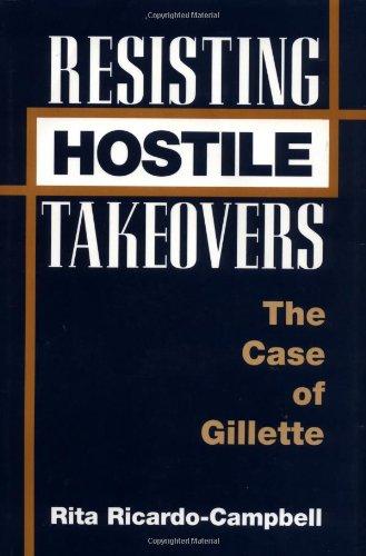 Resisting Hostile Takeovers: The Case of Gillette