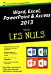 Word, Excel, PowerPoint & Access 2013...