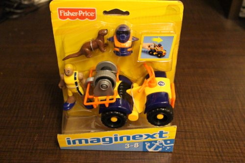 Fisher Price Imaginext Ocean ATV & Figure Set