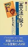 「英文法」を疑う―ゼロから考える単語のしくみ (講談社現代新書)