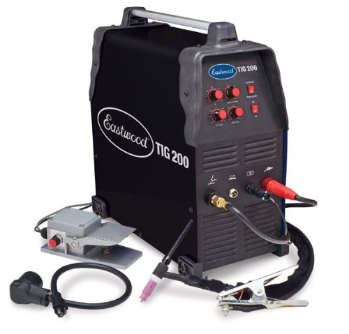 Cheapest Prices! NEW Eastwood Pro 200 AMP Tig Weld Welder - Square Wave Inverter 110/220V AC/DC