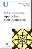 img - for Approches constructivistes (French Edition) book / textbook / text book