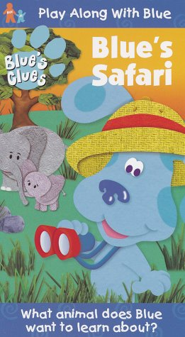 Blue's Clues - Blue's Safari [VHS] (Blues Clues Story Time compare prices)