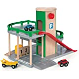 Brio - 33204 - Jeu de Construction - Garage Rail / Route