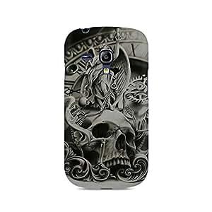 Mobicture Skull Premium Printed Case For Samsung S3 Mini 8190