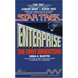 "51S1YAKTDAL. SL160 SS160  STAR TREK ENTERPRISE THE FIRST ADVENTURE  CASSETTE (Star Trek: All) (Audio Cassette) newly tagged ""star trek"""