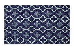 Jean Pierre Yapi Textured Decorative Accent Rug, 28 x 48\