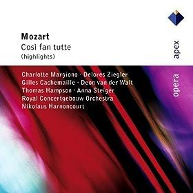 """Mozart : Cos� fan tutte : Act 1 """"Come scoglio"""" [Fiordiligi]"""