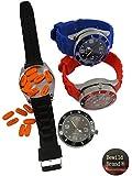 Bewild Black Secret Hidden Stash Watch - 2 in 1 Watch with Secret Storage Compartment and Bewild Balloon