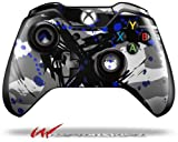 Abstract 02 Blue - Decal Style Skin fits Microsoft XBOX One Wireless Controller