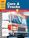 img - for Cars & Trucks: Step-by-step instructions for 28 different vehicles (Learn to Draw) book / textbook / text book