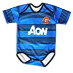 Manchester United Away Baby Suit 0-9...