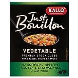 Kallo Just Bouillon Premium Vegetable Stock Cubes (6x11g)