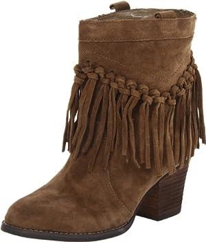 Sbicca Women's Sound Ankle Boot,Khaki,8 B US