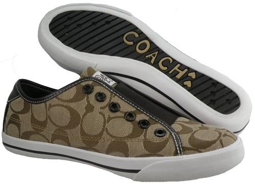 Coach Bev Signature Slip On Sneakers
