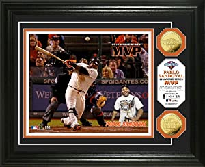 MLB San Francisco Giants 2012 World Series MVP Gold Coin Photo Mint by The Highland Mint