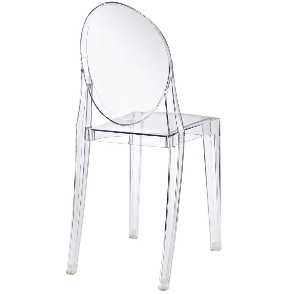 0 0 lexmod philippe starck style victoria ghost chair philips for Philippe starck ghost chair