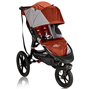 Baby Jogger Summit X3 Single Stroller, Orange by BaJogger