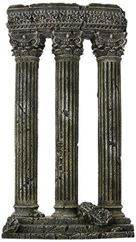 Blue Ribbon Pet Products ABLEE910 3-Column Ruins Ornaments for Aquarium
