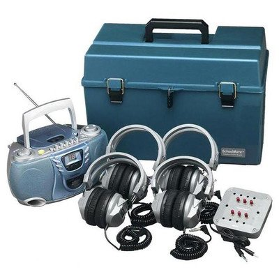 Deluxe Cd Listening Center Number Of Headsets: 6