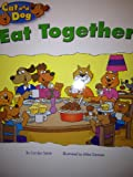 img - for Cat and Dog Eat Together, Kindergarten Student Reader book / textbook / text book
