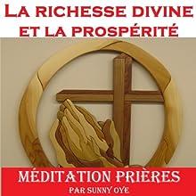 Pouvoir pour la richesse divine et la prospérité (French) - méditation Prières | Livre audio Auteur(s) : Sunny Oye Narrateur(s) : Sunny Oye