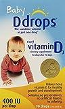 D Drops Liquid Vitamin D3 Baby - 400 IU - 0.08 fl oz