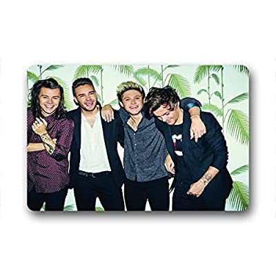 """Wenglee Custom one direction Pattern Machine Washable House Doormat 23.6""""x15.7"""" about 60cm X 40cm"""