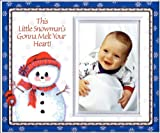 This Little Snowman Will Melt Your Heart - Picture Frame Gift