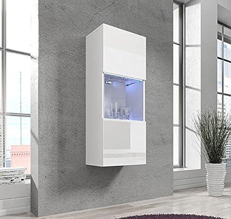 Muebles Bonitos – Armario Colgante modelo Oleggio en color blanco