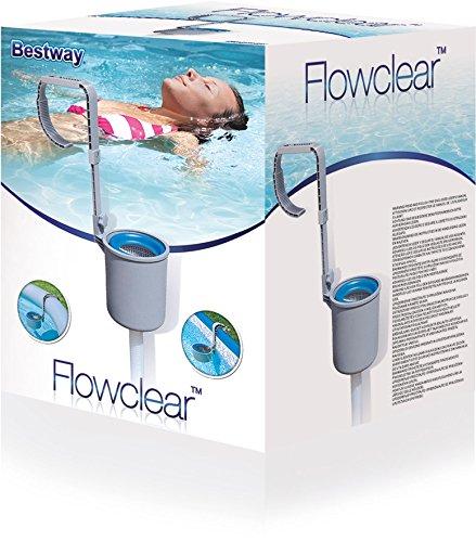 bestway 58233 pool oberfl chenskimmer sandfilterpumpe test. Black Bedroom Furniture Sets. Home Design Ideas