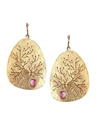 Eena Kapoor Silver Drop Earrings for Women
